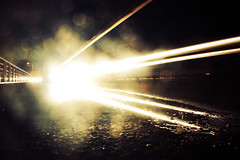 (osky_toxic) Tags: road light lightpainting blur reflection lines night painting noche focus carretera bokeh perspective desenfoque reflejo perspectiva lineas foco oskytoxic