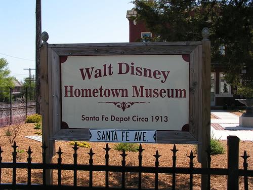 Walt Disney Hometown Museum Sign by JeromeG111, on Flickr