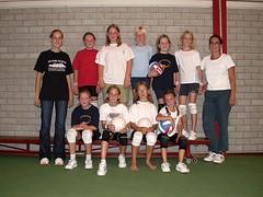2003 Mini  7 en 8 - Tr. Carlijn Platzer en Erna Prenger