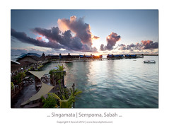 ... Singamata | Semporna, Sabah ... (liewwk - www.liewwkphoto.com) Tags: above morning light 6 sun beach sunrise canon landscape hotel seaside day or horizon first lee malaysia rise filters sabah pantai ascent mii   mark2 9s gnd 1635l semporna singhray leefilter graduatedneutraldensity 5dmark2 canon5dm2 singamata rgnd liewwk httpliewwkmacroblogspotcom  wwwliewwkphotocom  wwwliewwkphotocomblog