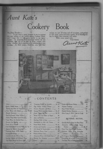 Aunt Kate's Cookery Book