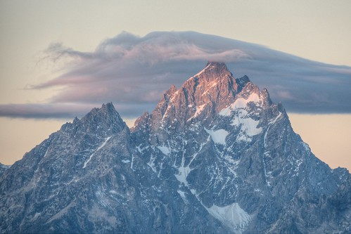 Sunrise on Grand Teton
