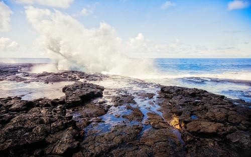 Samoa - Blowhole