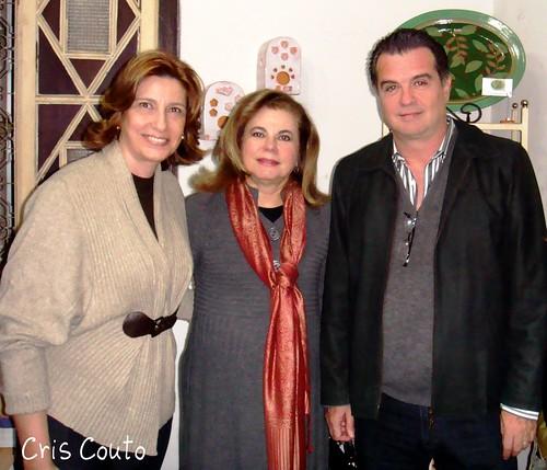 Eu, Fernanda Terra e Cláudio Destro by cris couto 73