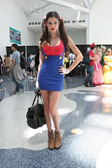 Super Mario Babe - Anime Expo