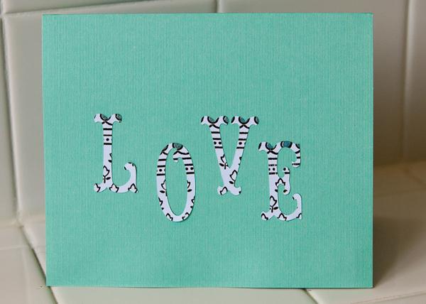 Jordan's 8th birthday card