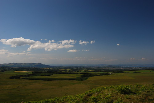 The Pentland Hills and the Forth from Broad Law, Moorfoot Hills
