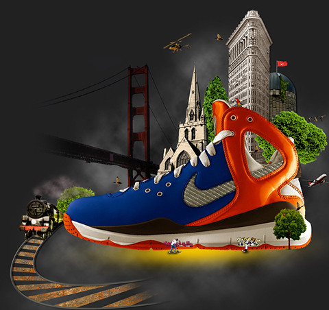 Nike (uncover the hidden world)