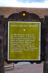 Chimayo, NM Santuario Sign (Heritage Hotels & Resorts) Tags: newmexico santafe lowrider chimayo sacredsite santuario religiousart redchile spanishcommunity heritagehotelsresorts hotelchimayo
