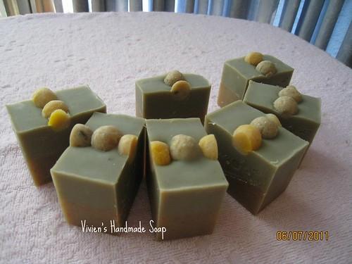 金盞綠石泥乳皂_秀珊