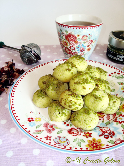 Biscottini riso e pistacchio 2