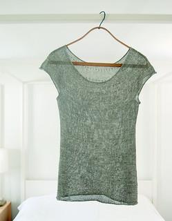 Silken Straw Summer Sweater pattern by Purl Soho