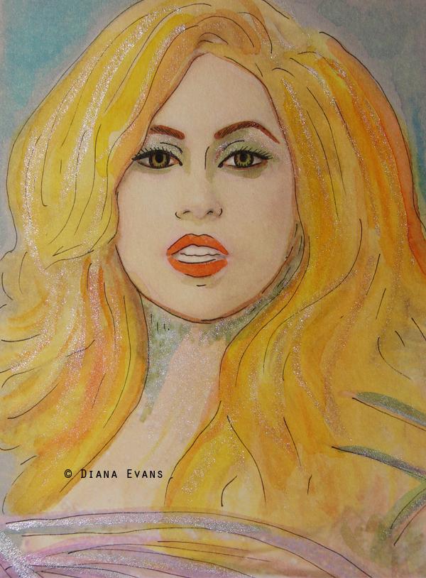 Gaga Grammy awards 2010