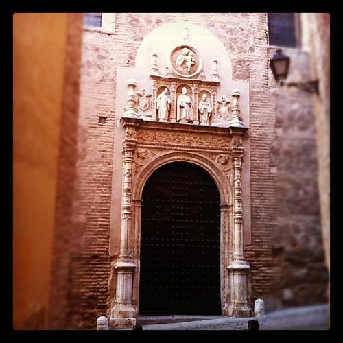 Portada Convento de San Clemente en Toledo