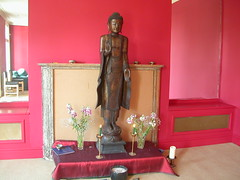 Cambridge Buddhist Centre shrine rupa