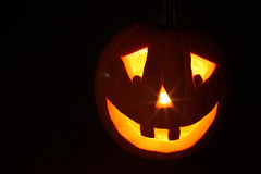 Jack-O-Lantern (Lisa568) Tags: autumn fall halloween canon pumpkin jack carved o mark images ii getty 5d lantern