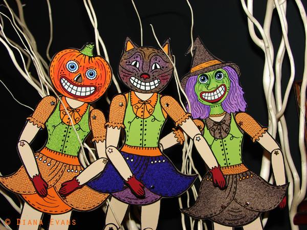 Halloween 2011 Dolls all