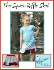 The Square Ruffle Skirt PDF Pattern