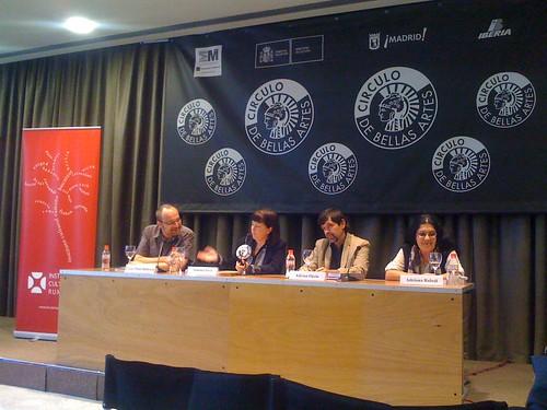 Autori romeni a Madrid. LIBER, Circulo de Bellas Artes Madrid