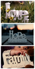 50 days of 50mm - #42/50 - love hope family (Indigo Skies Photography) Tags: bridge family flowers sunset sky baby color colour love beautiful grass nose hope lights eyes bokeh fingers australia victoria letter lovely echuca nikond90 nikonafnikkor50mmf18d raychristy