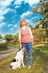 Portrait of A Grandmother (Zack Ahern) Tags: sky cloud dog sun white color film barn painting grandmother flash ambient lightning zack ahern strobist