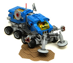 Uranium Search Vehicle 02 (cjedwards47) Tags: classic set lego space neo redux moc
