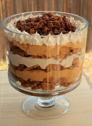 Easy Pumpkin Cream Trifle Recipe — Dishmaps