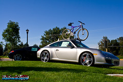 Porsche Cayman and 911 (997) C4S