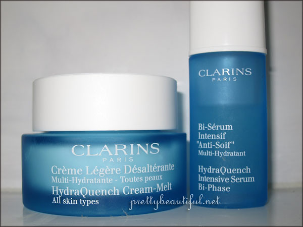 Clarins HydraQuench Intensive Serum Bi-Phase and Cream-Melt