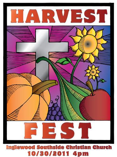 Harvest Fest 2011 Flier by Ron San Kyuu Ban