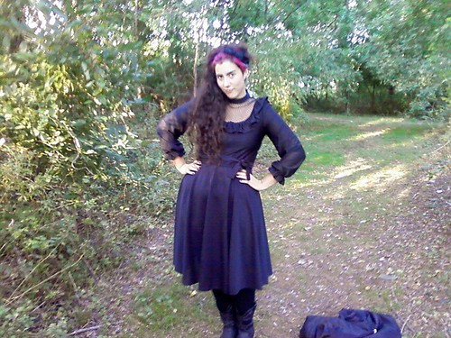 autumn forest goth