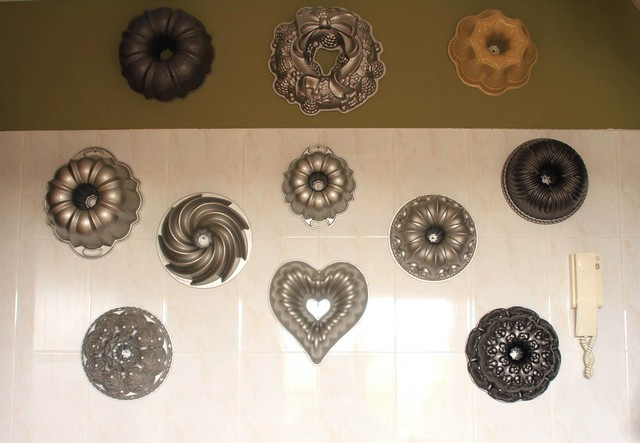 Pared Moldes Bundt