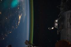 Sideways Over Australia at Night (NASA, International Space Station, 09/15/11) (NASA's Marshall Space Flight Center) Tags: australia brisbane nasa canberra internationalspacestation earthatnight airglow stationscience crewearthobservation stationresearch