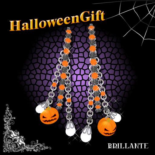 2011.Halloween gift Earring
