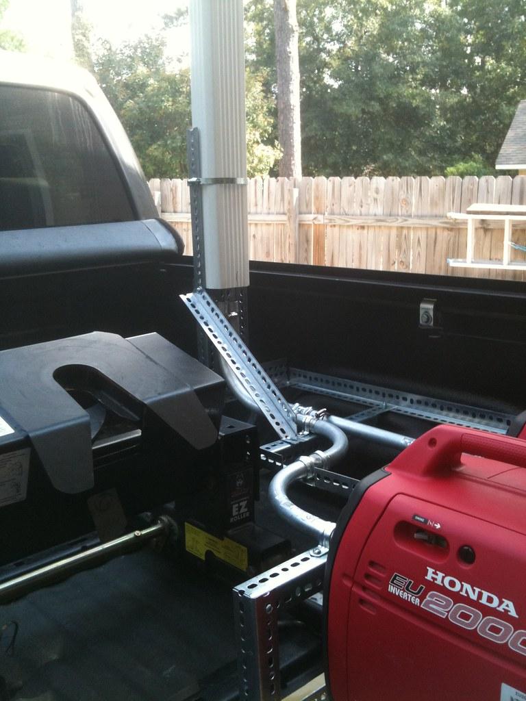 Rvnet Open Roads Forum Generator Exhaust Stack For Honda Eu3000is