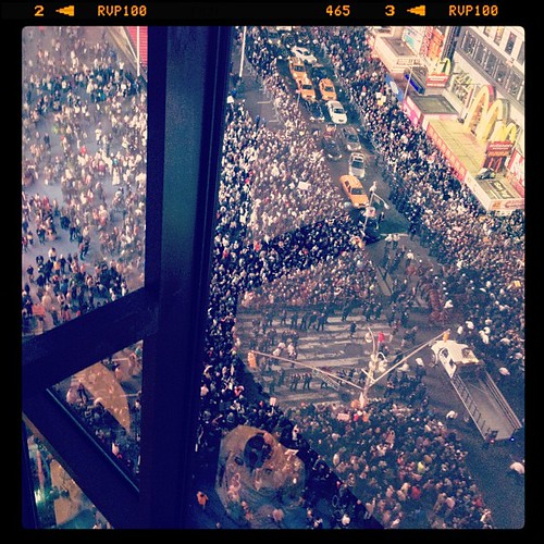 #OCCUPYWALLSTREET in Times Square. #OWS #NYC