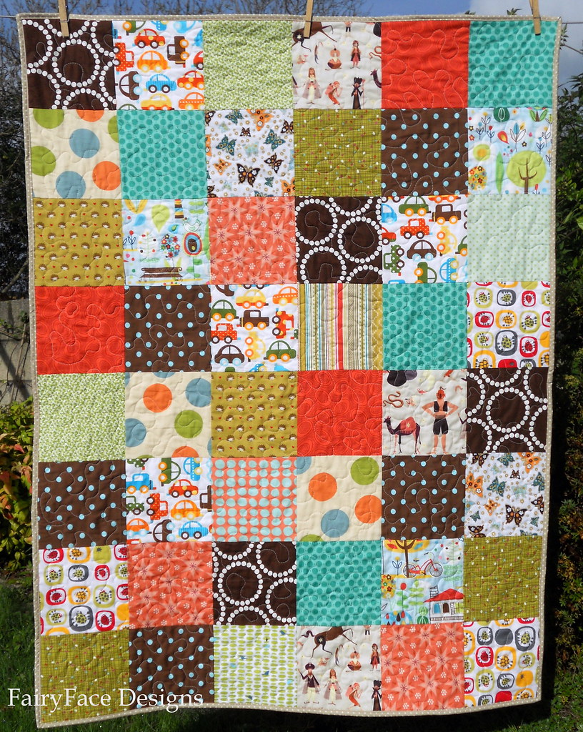Autumn Baby quilt front