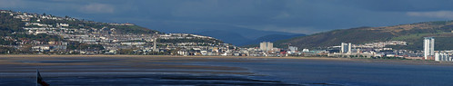 swansea bay panorama large image. 20,000 x 4,000