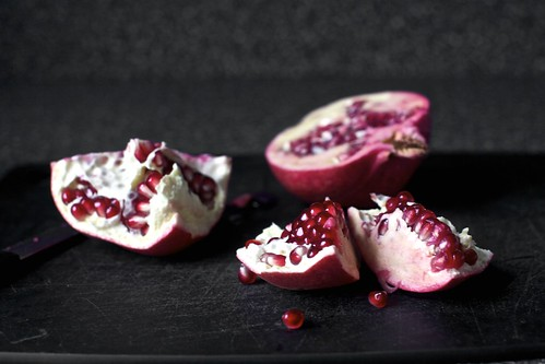 hello, pomegranate season