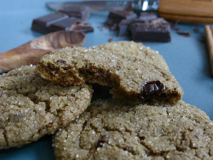 ginger chip cookies 006