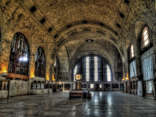 interior, Buffalo Central Terminal (by: Matt Johnson/tracktwentynine, creative commons license)