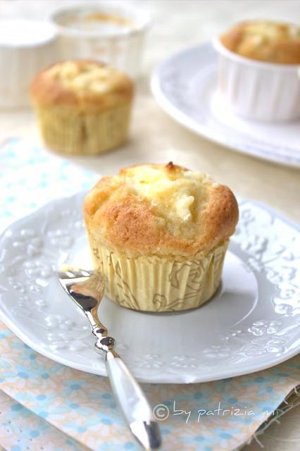 Muffins alle pere e formaggio