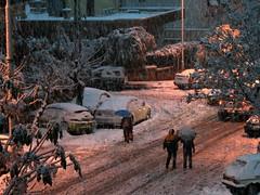 Damascus D08 (Nawar-2012) Tags: street snow home car night capital arab syria arabian damascus  mezze    nawar mazeh canoneos400d kouli