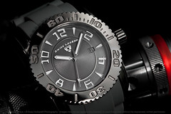 Swiss Legend | Commander (Beau Hudspeth Photography | The WatchTographer) Tags: macro canon stainlesssteel adobephotoshop watches watch things rubber software strap flashlight 5d diver sos redline commander strobe 220 nebo tactical strobes productphotography adobelightroom 316l watchphotography swisslegend 100mmmacrof28lisusm 20068gm12 lumen5581 wristwatchphotography thewatchtographer watchtographercom