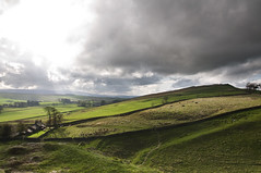 Looking west. (Laura donothey) Tags: cloud sun stormy fields hadrianswall northumberlandnationalpark