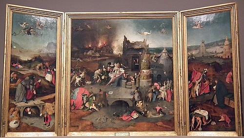 Jheronymus Bosch (El Bosco): TENTAÇÕES DE SANTO ANTÃO (Tentaciones de San Antonio)