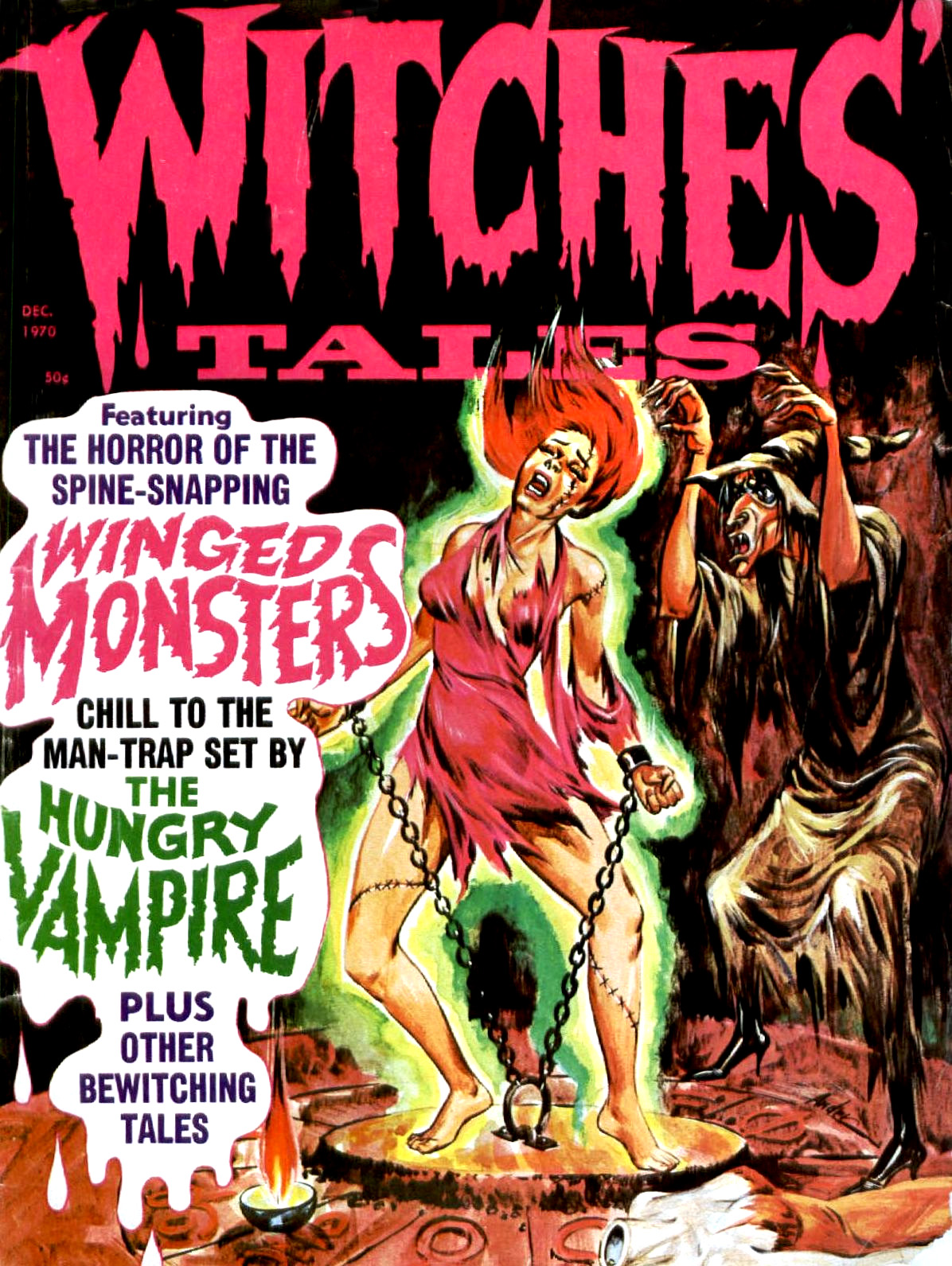 Witches' Tales Vol. 2 #6 (Eerie Publications 1970)