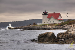 Hendricks Head (LarryHB) Tags: lighthouse landscape maine southport hendricks boothbay 2011