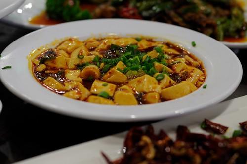 Mapo Tofu @ Chengdu Sichuan Restaurant