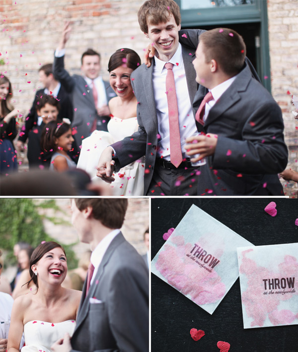 Omaha, Nebraska Wedding Planner | cocktail-hour-confetti